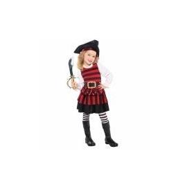 Kostým mini pirátka 3-4 rokov