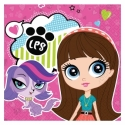 Servítky Littlest Pet Shop