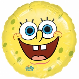 Fóliový balón Spongebob face