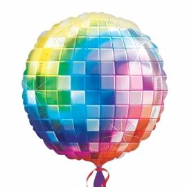 Fóliový balón disco guľa