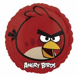 fóliový balón angry birds červená