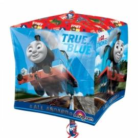 Foliový balón Vláčik Tomáš kocka