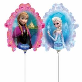 Mini fóliový balón Frozen zrkadlo