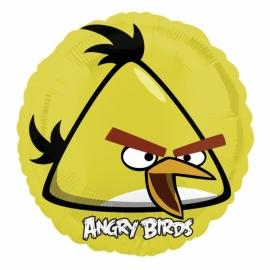 fóliový balón angry birds žltá