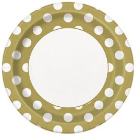 Tanier zlatý s bodkami