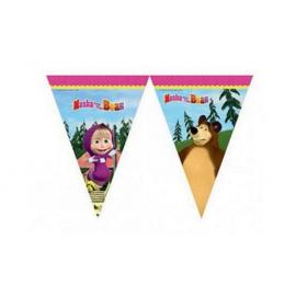Vlajočky Máša a Medveď
