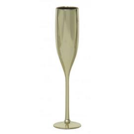 Zlaté poháre na šampanské