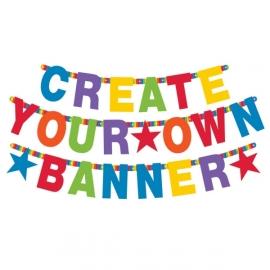 Banner s vlastným nápisom