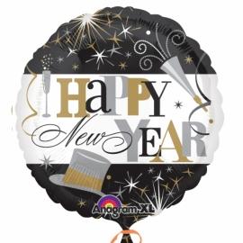 Foliový balón New Year