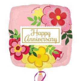 Fóliový balón na výročie Happy anniversary