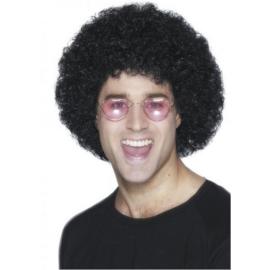 Afro parochňa čierne vlasy