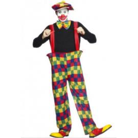 Klaun kostým veľkosť L