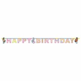 Banner Koníky happy birthday