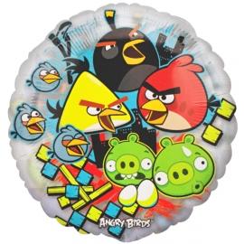 MAXI Foliový balón Angry Birds