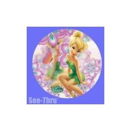 MAXI Foliový balón Víla Cililing transparent
