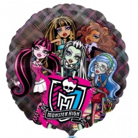 Fóliový balón Monster High transparent