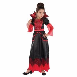 Kostým vampír dievča 8-10 rokov