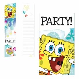 Pozvánky Spongebob