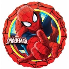 fóliový balón spiderman červená