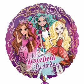 Fóliový balón Ever after high Happy Birthday