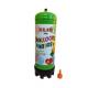 Héliová fľaša 180 litrov na 20 balónov
