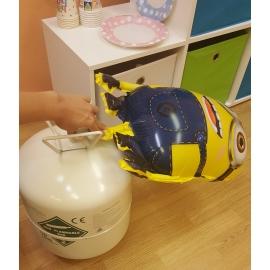 Fúkanie fóliových balónov héliom