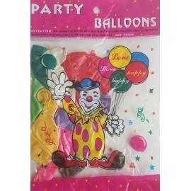 "Balóny mix farieb 9"""