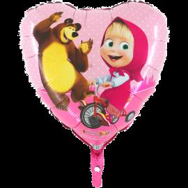 Máša a medveď srdce