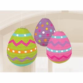 Lampióny vajíčka Veľká Noc