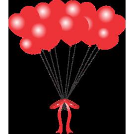 Balónová kytica na želanie