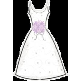 Svadobný balón svadobné šaty