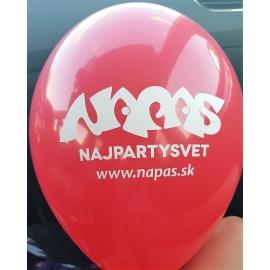 Tlač na balóny jednofarebná 300ks