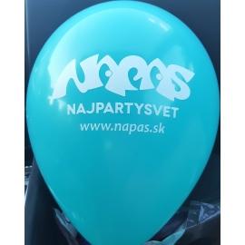 Tlač na balóny jednofarebná 500ks