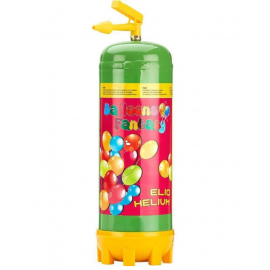 Héliová fľaša 28 + balóny