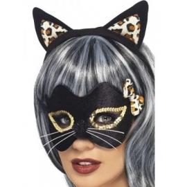 Maska Kitty halloween