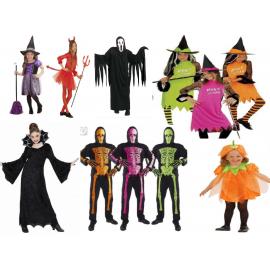 Kostýmy viac druhov - dospelé