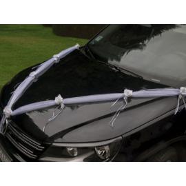 Svadobná výzdoba auta 1