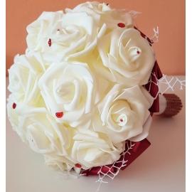Kytica ruží domáca výroba