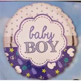 Fóliový balón Baby Boy - narodenie chlapca