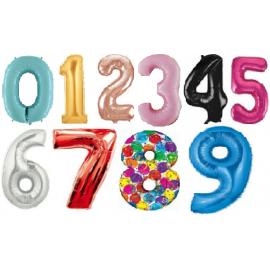 Fóliové čísla od 0 - 9 veľké
