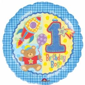 fóliový balón 1. narodeniny