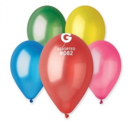 Metalické balóny - zlaté,strieborné,biele,čierne a viac