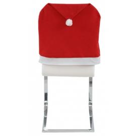 Vianočný alebo mikulášsky poťah na stoličku