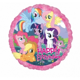 fóliový balón happy birthday my little pony