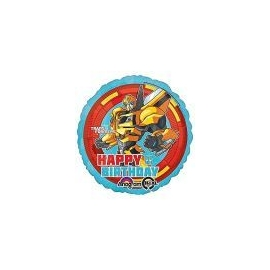 Foliový balón Transformers Birthday