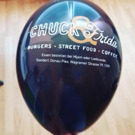Tlač na balóny dvojfarebná 500 ks