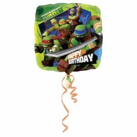 Foliový balón Ninja Birthday