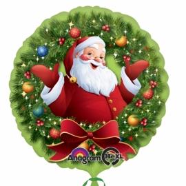 Foliový balón Santa