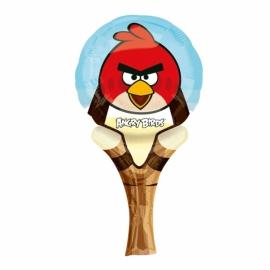 Ručný fóliový balón Angry Birds