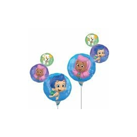 Mini foliový balón Bubble Guppies